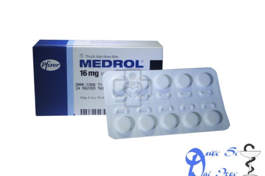 Thuốc medrol giá bao nhiêu? có tác dụng gì? có tốt hay không?
