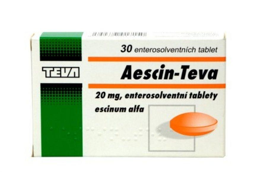 Thuốc aescin 20mg giá bao nhiêu? có tác dụng gì? có tốt hay không?