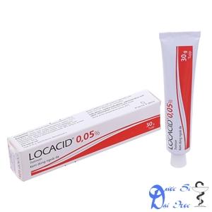 Hình ảnh sản phẩm kem trị mụn locacid