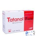 Thuốc tatanol giá bao nhiêu? có tác dụng gì? có tốt hay không?