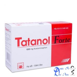 Thuốc Tatanol điều trị giảm đau, hạ sốt