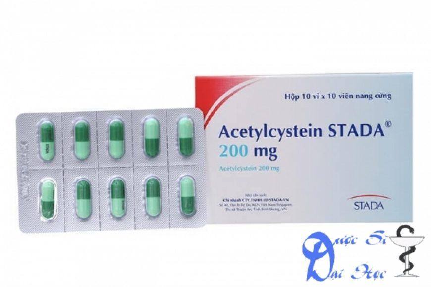 Thuốc acetylcystein giá bao nhiêu? có tác dụng gì? có tốt hay không?