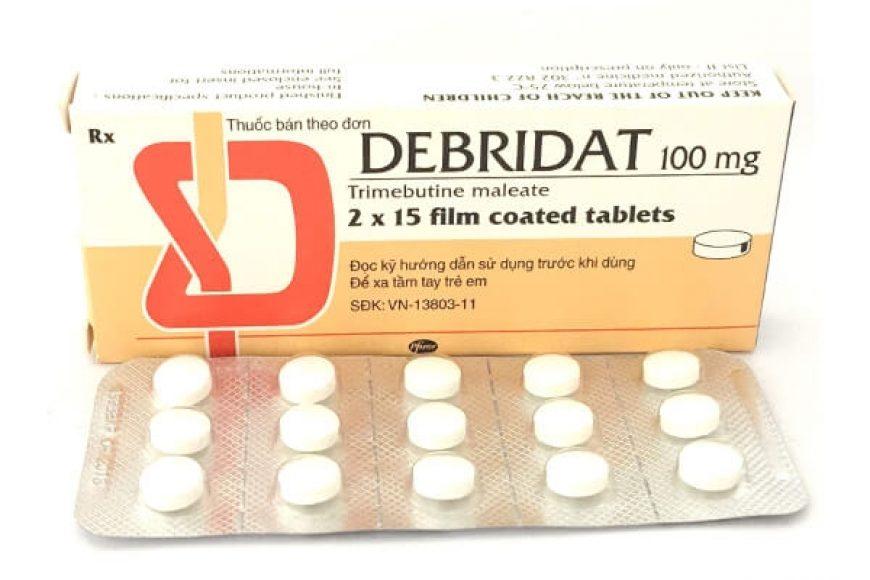 Thuốc debridat giá bao nhiêu? có tác dụng gì? có tốt hay không?