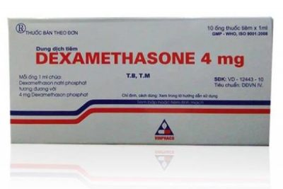 Thuốc dexamethason giá bao nhiêu? có tác dụng gì? có tốt hay không?