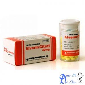 thuốc alverin