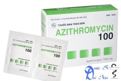 Thuốc azithromycin giá bao nhiêu? có tác dụng gì? có tốt hay không?