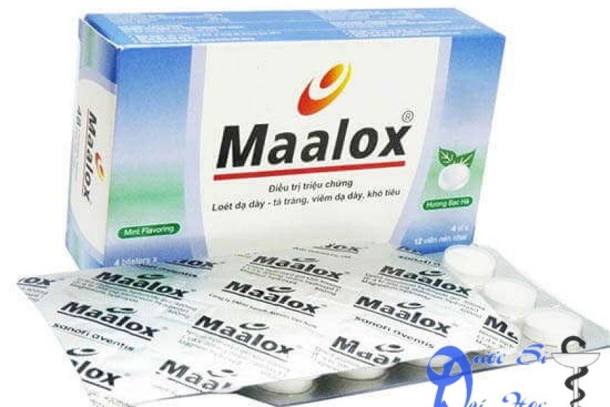 Thuốc maalox giá bao nhiêu? có tác dụng gì? có tốt hay không?