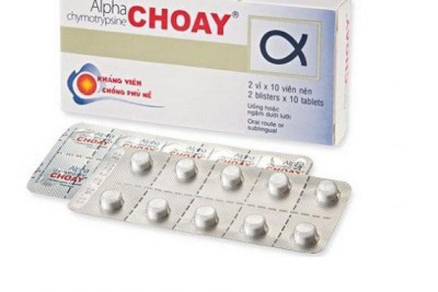 Thuốc alpha choay giá bao nhiêu? có tác dụng gì? có tốt hay không?