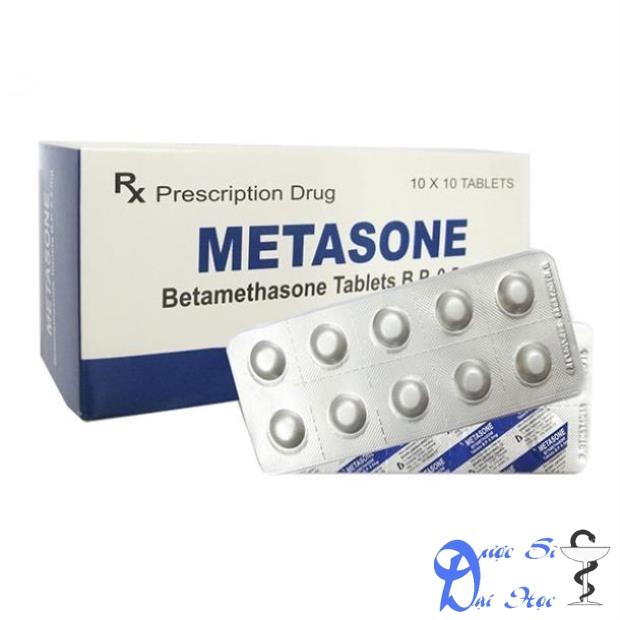 Thuốc Metasone 0.5 mg