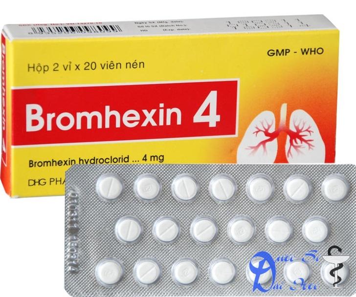Hình ảnh sản phẩm bromhexin