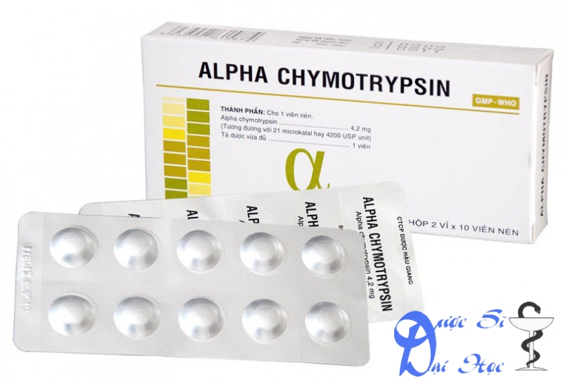 Hình sản phẩm alphachymotrypsin