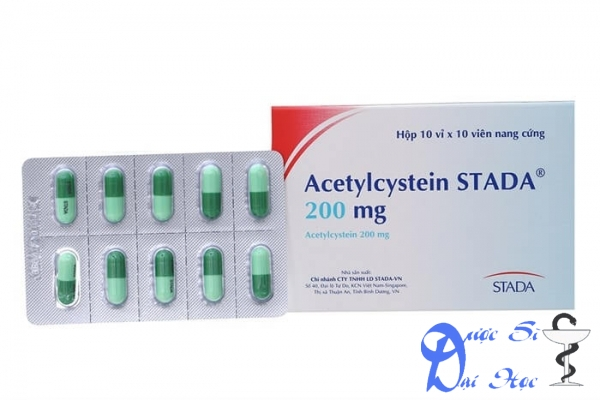 Hình ảnh sản phẩm thuốc acetylcystein