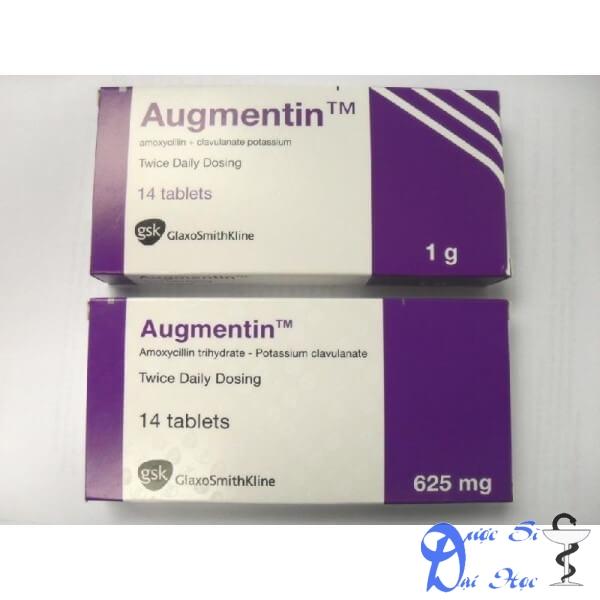 Hình ảnh sản phẩm thuốc Augmentin