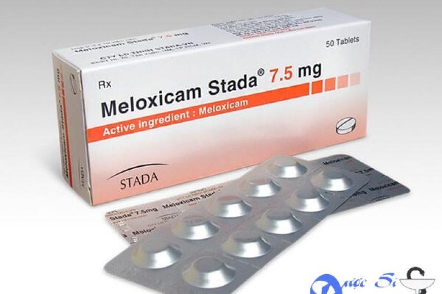 Thuốc meloxicam giá bao nhiêu? có tác dụng gì? có tốt hay không?
