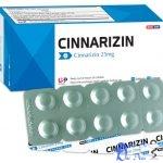 Thuốc cinnarizin giá bao nhiêu? có tác dụng gì? có tốt hay không?