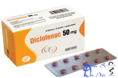Thuốc diclofenac 50 mg giá bao nhiêu? có tác dụng gì? có tốt hay không?