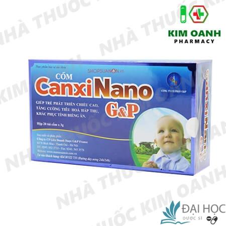 Cốm CanxiNano G&P