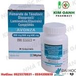 Thuốc avonza mylan có tác dụng gì? dùng như thế nào? giá bao nhiêu