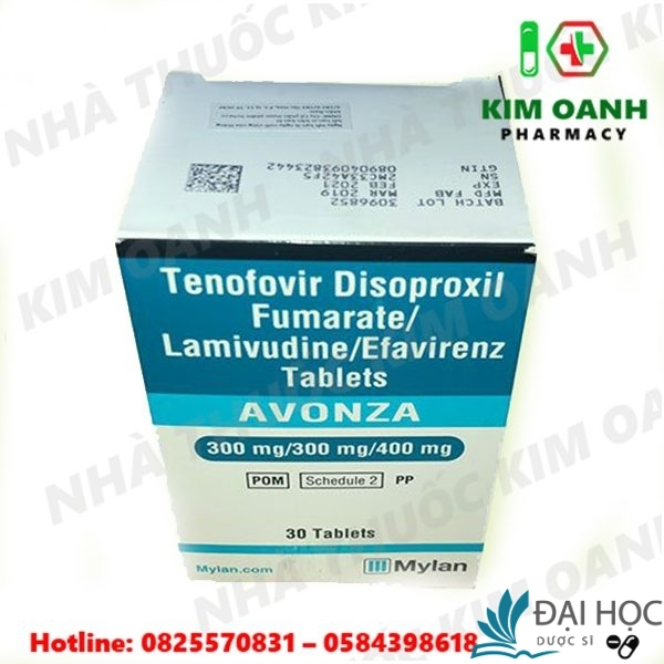 thuốc avonza có bán tại nhà thuốc kim oanh