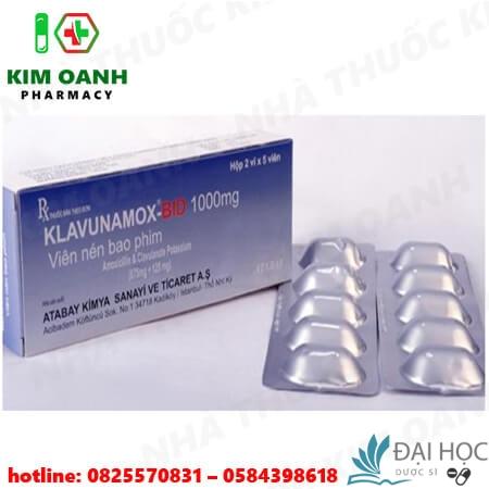 Thuốc klavunamox