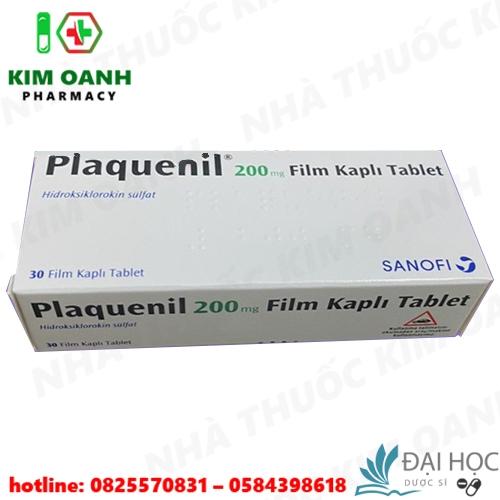 Thuốc plaquenil 200mg