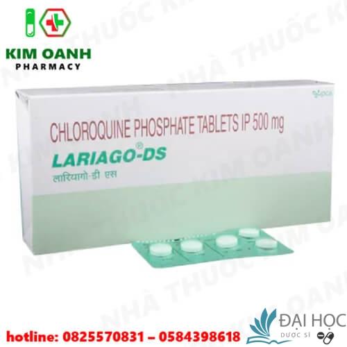 Thuốc chloroquine sử dụng trong phác đồ điều trị sốt rét