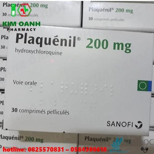 Hình ảnh thuốc plaquenil 200mg