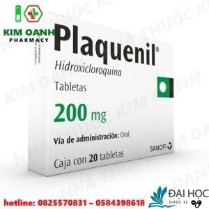 Thuốc plaquenil trong phác đồ điều trị sốt rét