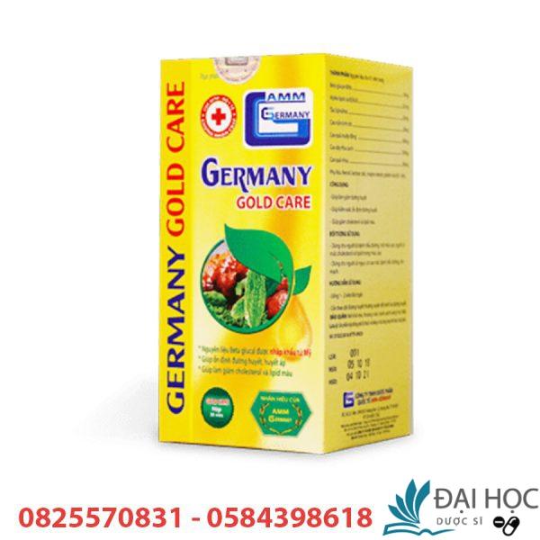 germany gold care điều hòa huyết áp