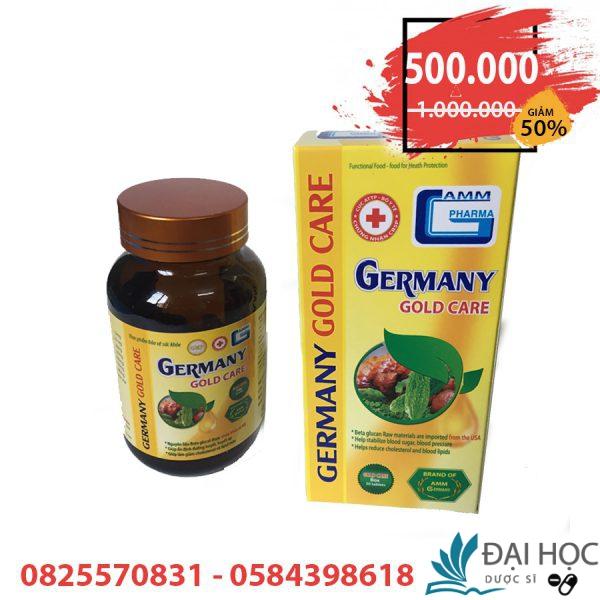 germany gold care ổn định đường huyết