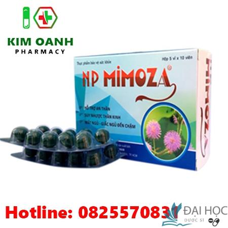 Thuốc NP mimoza có tác dụng gì