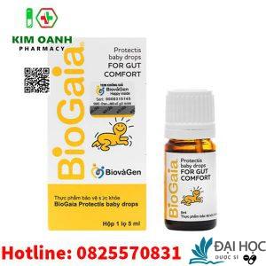 biogaia bổ sung lợi khuẩn cho đường tiêu hóa