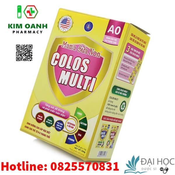 Gía mama sữa non colos Multi A0
