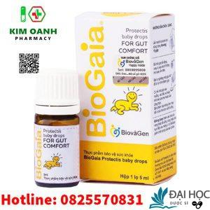 Men vi sinh biogaia bổ sung lợi khuẩn cho đường tiêu hóa