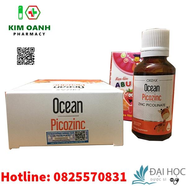 Tem chính hãng thuốc ocean picozinc