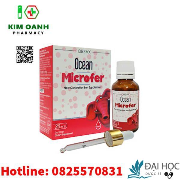 Mua Ocean microfer chính hãng tại Việt Nam