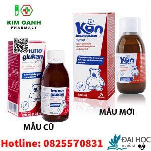 imunoglukan - siro Kan giúp tăng cường sức đề kháng cho bé